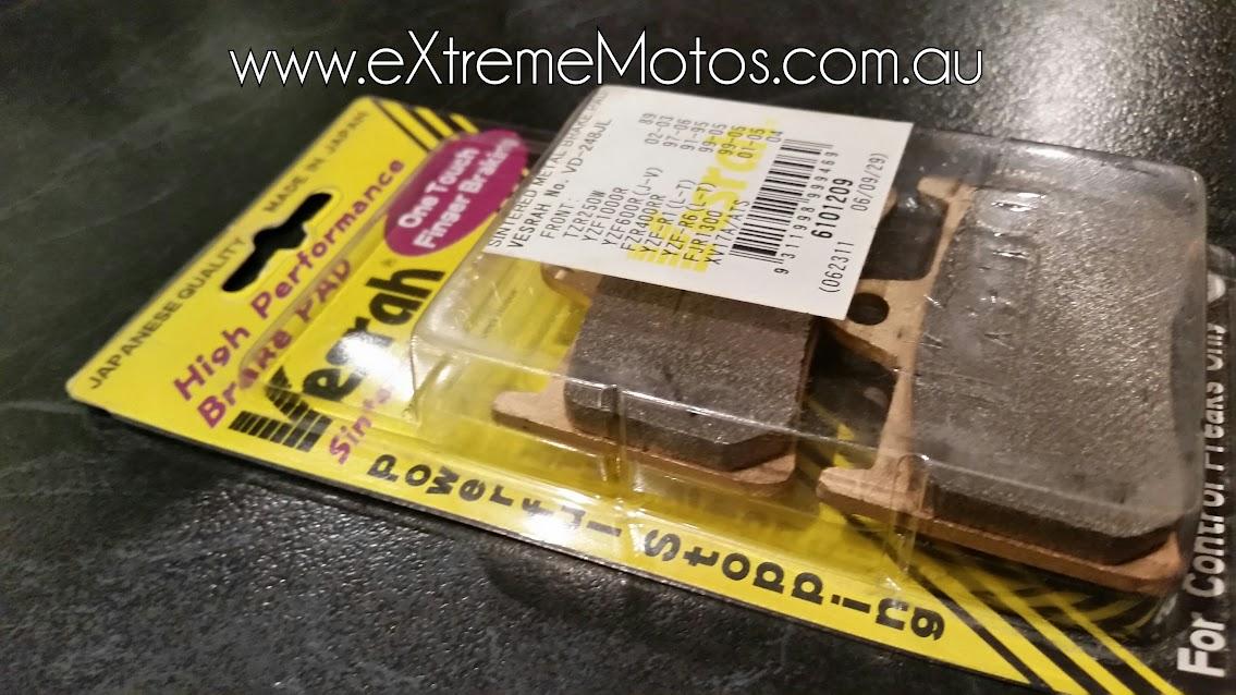Vesrah motorcycle brake pads for sale in australia sintered metal