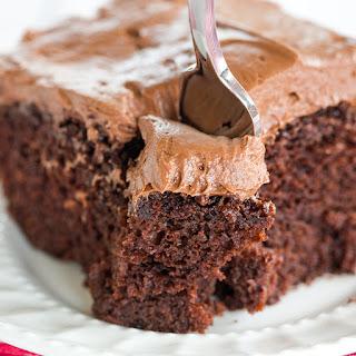 Chocolate Dump-It Cake.