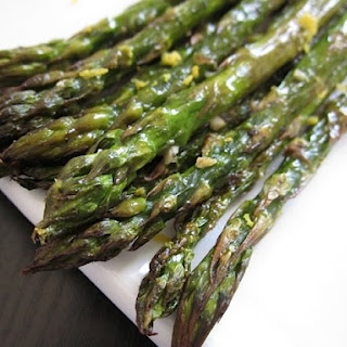 Lemon Garlic Roasted Asparagus Recipe