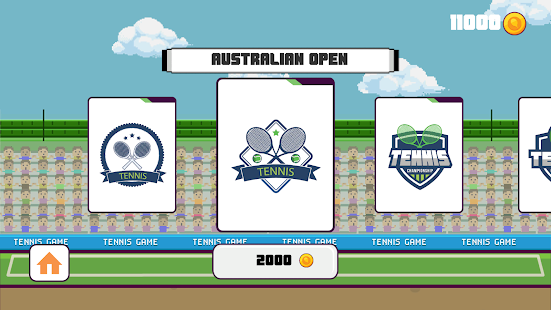 Tennis - Tap,Flick Ball Sports- screenshot thumbnail