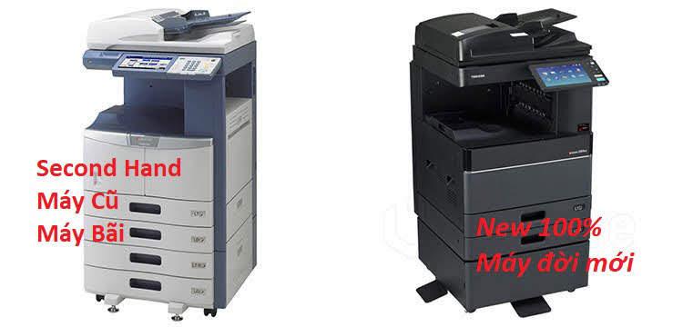 Các mẫu máy photocopy toshiba ngoài thị trường