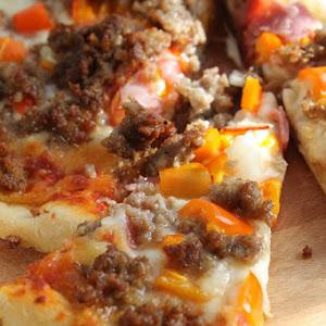 Sausage Ham Pepper Pizza