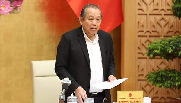 Trương Hòa Bình thay Vương Đình Huệ làm nhiệm vụ Phó Thủ tướng