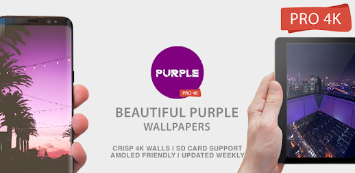 Purple Wallpapers 4K PRO Purple Backgrounds APK