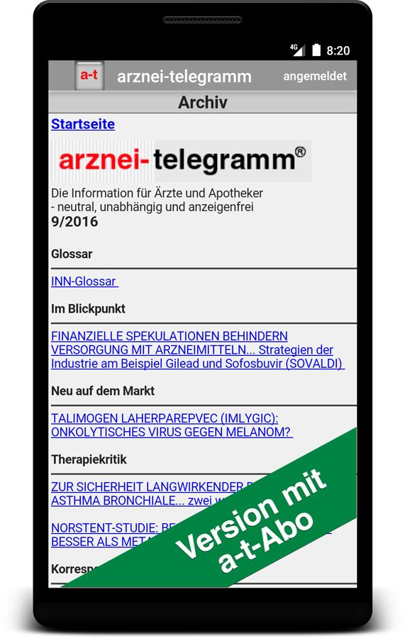arznei-telegramm & atd- screenshot