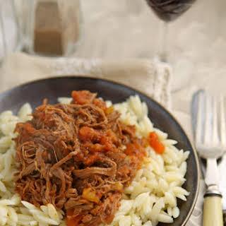 Simple Beef Ragu.