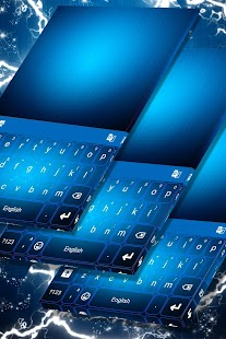 Blue Theme for Keyboards - náhled