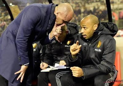 Nog geen vervanger voor Thierry Henry, Roberto Martinez geeft update van de zoektocht