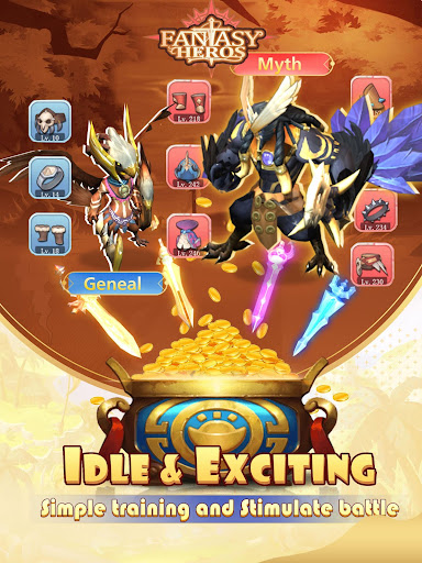 Fantasy Heroes : Idle RPG Game 0.8.0.12 screenshots 3