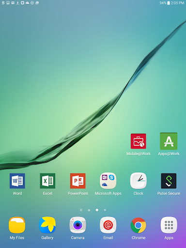 Mobile@Work  screenshots 5
