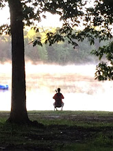 Photo: A quiet morning on the lake, never too early to practice....
