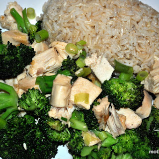 Asian Chicken and Broccoli with Chili Garlic Sauce Recipe