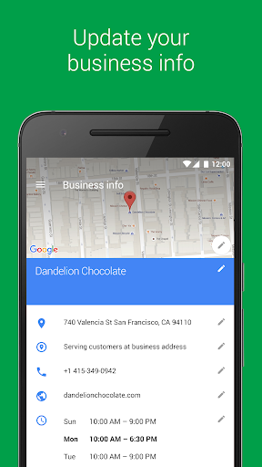 Google My Business  screenshots 2