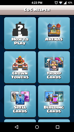 Clash Royale Guide and Helper