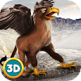 Flying Griffin Simulator 3D icon