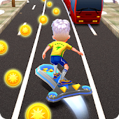 Skate Rusher Run