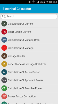 Electrical Calculator on Google Play Reviews | Stats