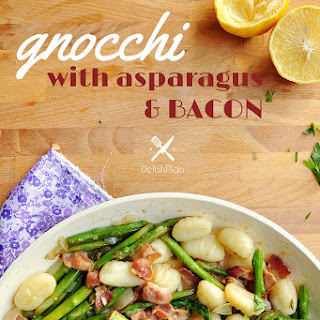 Gnocchi with Asparagus and Bacon
