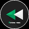 reverse video backwards icon