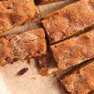 Chewy Cinnamon Cranberry Cookie Bars