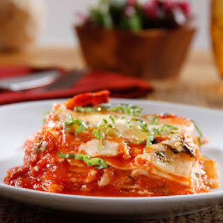 Barilla® Oven-Ready Lasagna with Traditional Sauce.