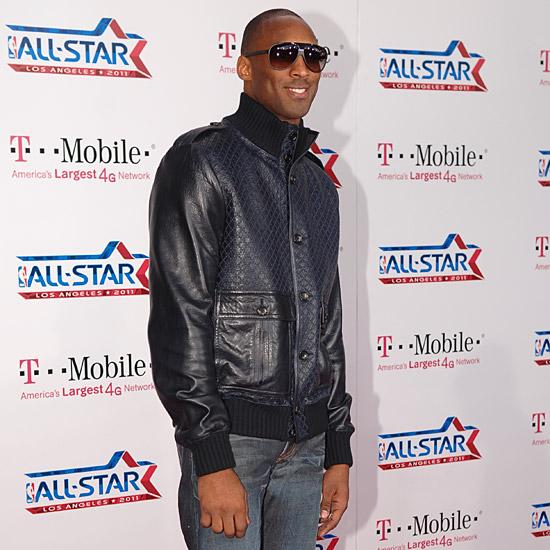 Kobe Bryant magenta carpet