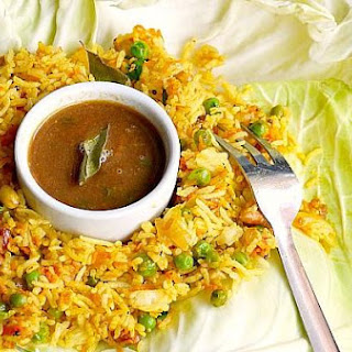 Roasted Tomato Rasam & Lemon Rice For A Simple Supper