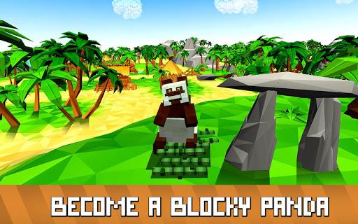 Blocky Panda Simulator - be a bamboo bear! 2.2.4 screenshots 1