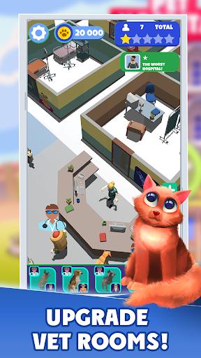 Idle Pet Hospital Tycoon 1.2 Mod screenshots 3