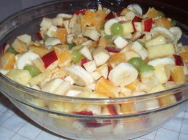 Sweet And Sour Fruit Salad Recipe