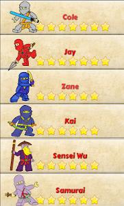 How to draw lego ninja screenshot 4