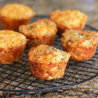 Savory Onion and Cheese Muffins.