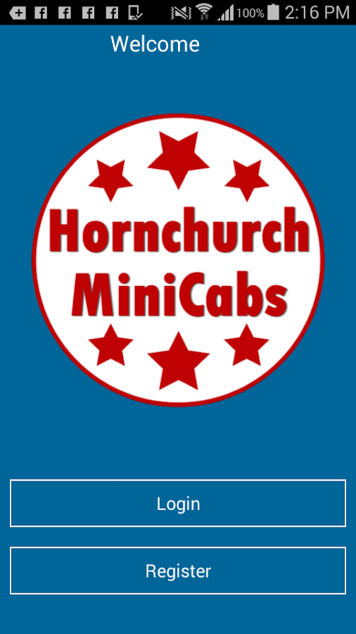 Hornchurch MiniCabs- screenshot