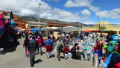 Photo: An edge of the market