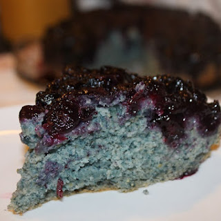 Blueberry Cornbread Cake.