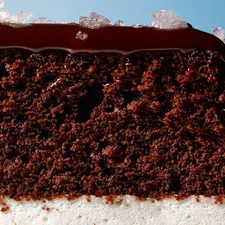 "Salted Caramel ""Ding Dong"" Cake."