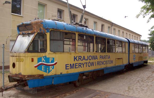 Zabytkowe Tramwaje we Wrocławiu.