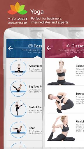 Yoga - Poses & Classes  screenshots 7