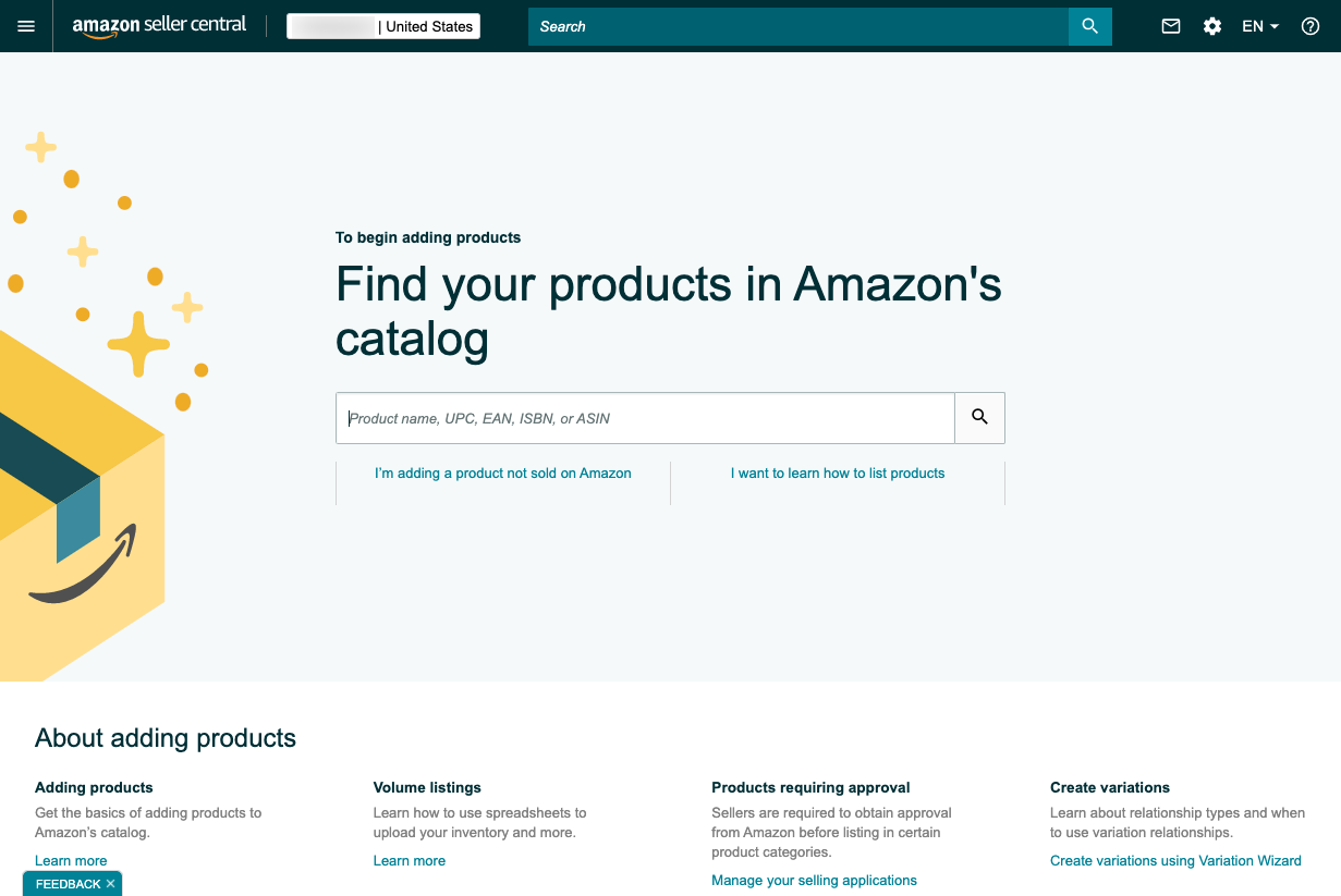 Create A New Product Listing For Each Product You Sell