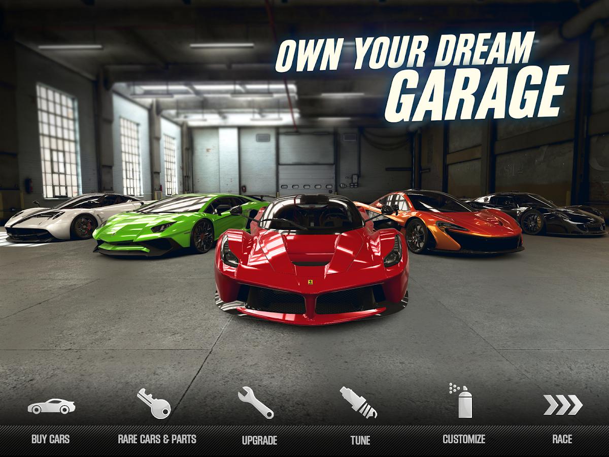 CSR Racing 2- tangkapan layar