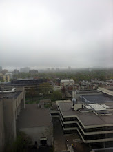 Photo: View from my residence window. It was a rainy day.