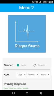 Diagno Stats - náhled