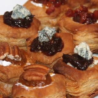 Roquefort Cranberry Fig Bites