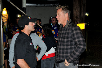 Photo: Ron Capps and James Hetfield