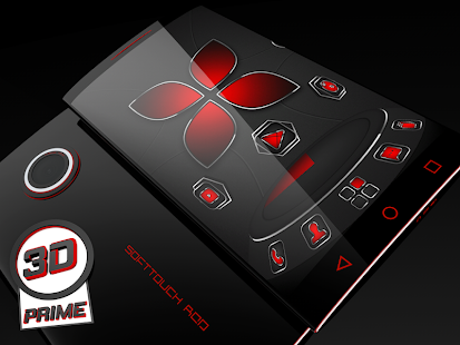Soft Touch Red theme for Next Launcher (Prime)- screenshot thumbnail