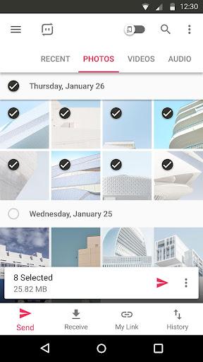 Send Anywhere (File Transfer) 7.12.21 screenshots 1
