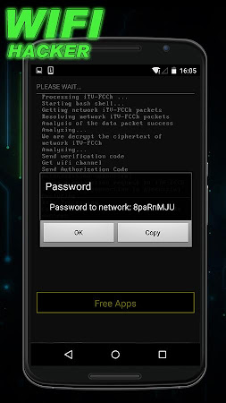 Wifi Password Hacker Prank 1.0 screenshot 129865