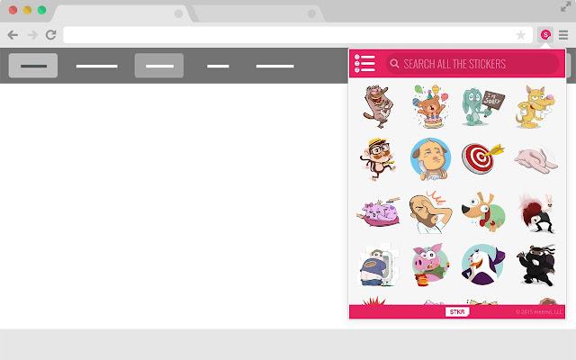STKR: The Sticker Search Engine