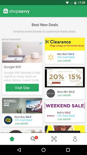 ShopSavvy Barcode & QR Scanner Screenshot