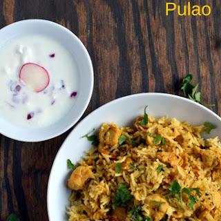 Chicken Pulao / Chicken Pulav | Gluten Free Indian.
